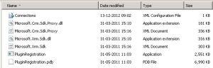 Plugin registration tool folder