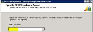 SSRS Extension Installation does not display SSRS Instances – CRM