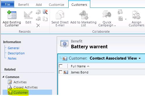 Associate/Disassociate plugin messages in CRM (1/2)