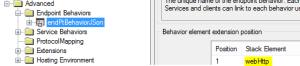 webHttp Behavior