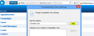 Comaptibility Settings
