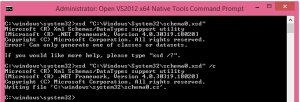XSD tool - generate class