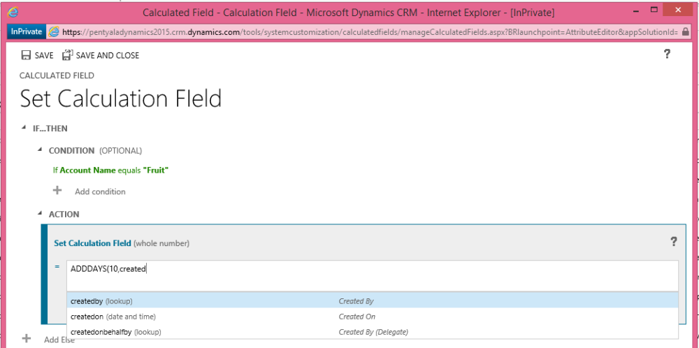 CRM 2015 Enhancements and new features (2/6)