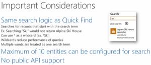 Quick Find - CRM 2015