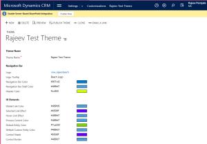 CRM 2015 - New Theme