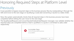 Validate Required Steps BPF