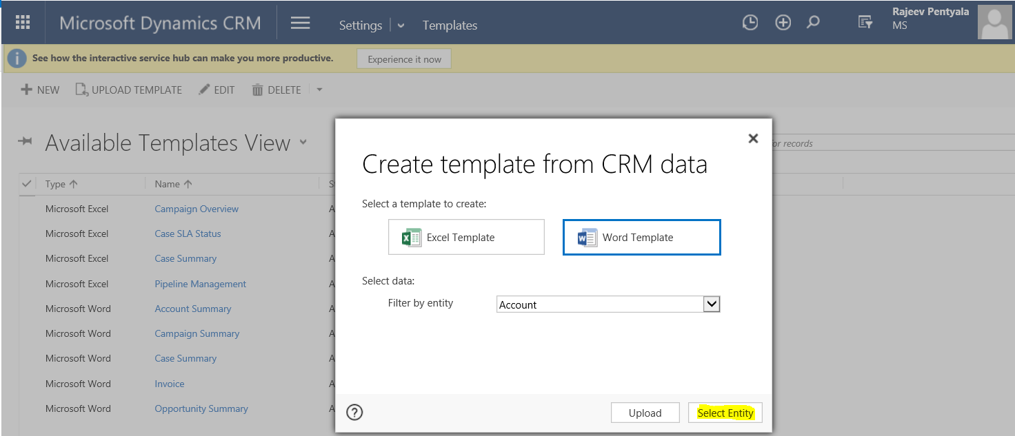 Crm 2016 Document Generation Enable Developer Tab And Add Repeated