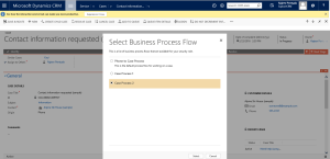 Multiple Business Process Flows