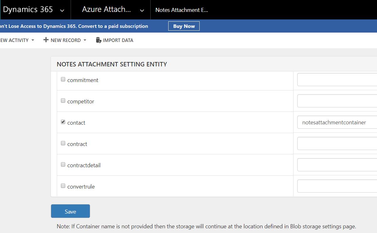 Attachment - NotesAttachment Page