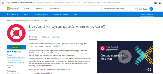 Configure CafeX Live Assist on Dynamics Portals | Rajeev