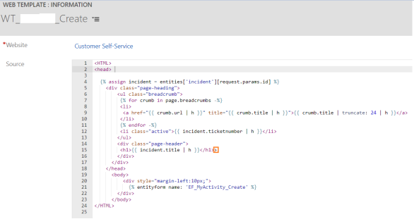 Portal - Web Template