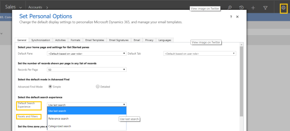 Dynamics 365 – Configure 'Relevance Search' | Rajeev