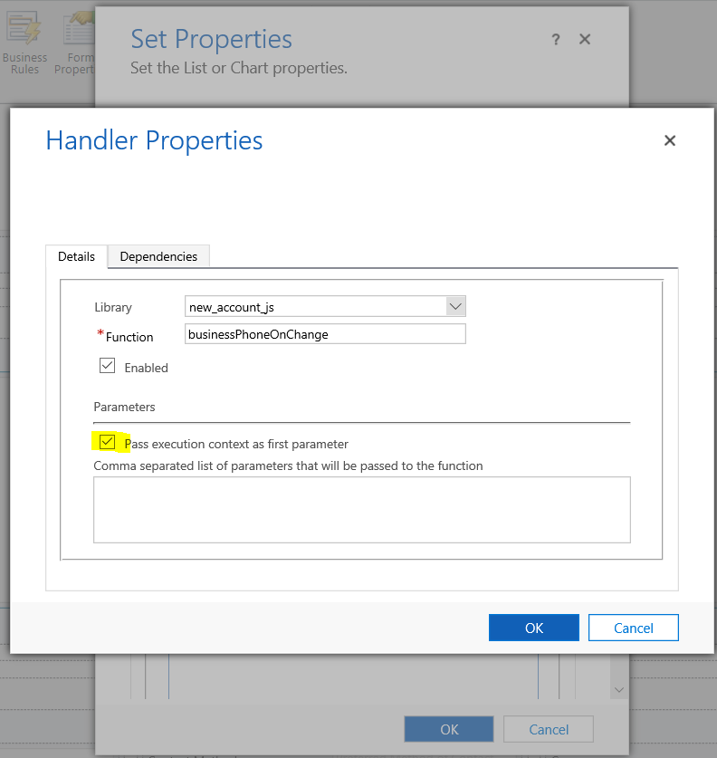 Dynamics 365 – Capture events from Editable subgrid and set main
