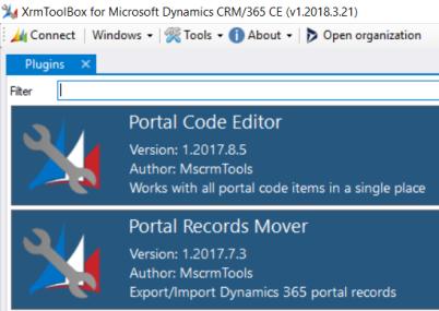 Portal tools