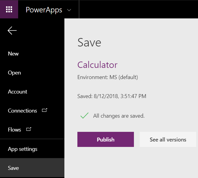 PowerApps – Step By Step – Build a simple Calculator App | Rajeev