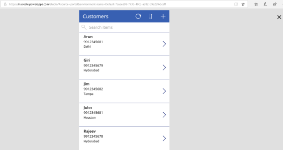 PowerApps – Build an App using Excel data as Source | Rajeev