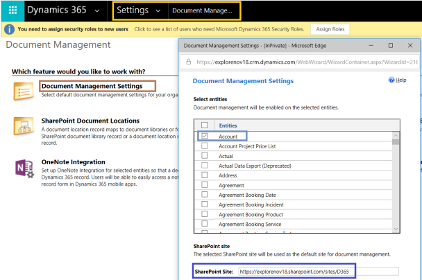 Step By Step] Dynamics Portals – SharePoint Integration
