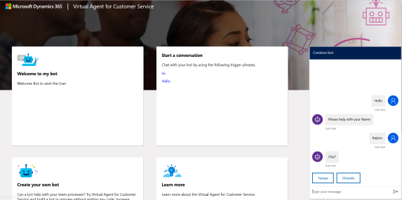 D365 Customer Service – Virtual Agent – Get Started | Rajeev